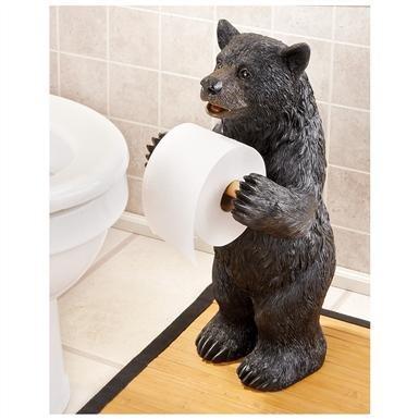 Bear Toilet Paper Holder