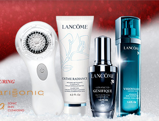 FEATURING Clarisonic® Mia SONIC SKIN CLEANSING