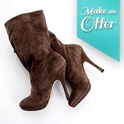 Make An Offer Sales!: Women's Designer Boots
