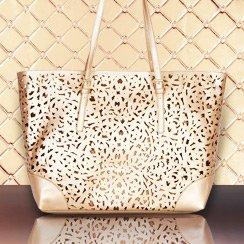 Metallic Handbags