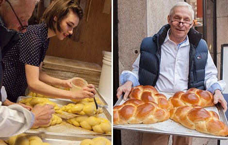 Eli Zabar Taught US How to Make Challah