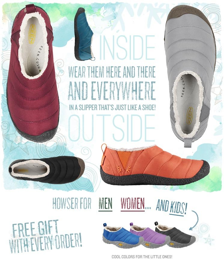 The Howser - A Slipper That's Just Like a Shoe!