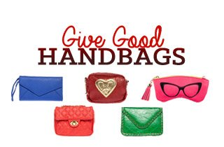 Holiday Shop: Give Good Handbags