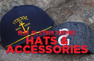 Best of Cyber Monday: Hats & Accessories