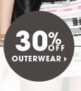 30% OFF OUTERWEAR