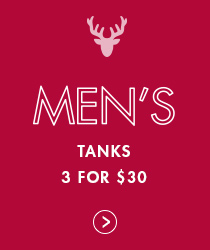 Shop Men - 3 for $30 tanks