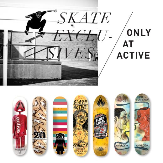 Active Skate Exclusives