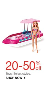 20-50% off Toys. Select styles. Shop now