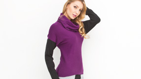 Designer Sweater featuring Joan Vass and more