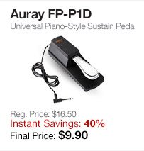 Auray Sustain Pedal