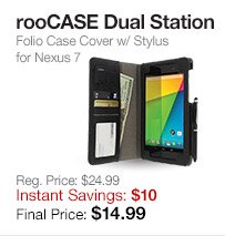 rooCASE Dual Station