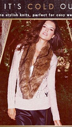 Fur Collar Jumper