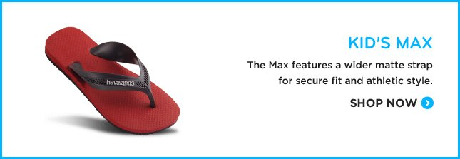 KID'S MAX - The Max features a wider matte strap for secure fit and athletic style. SHOP NOW.