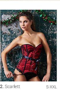 Scarlet lingerie set