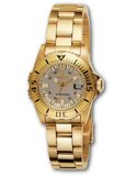 Invicta 2963 Women's Pro Diver Swiss Made Gold Tone SS Watch
