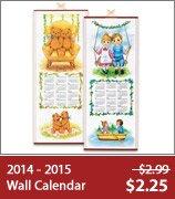 2014 - 2015 Wall Calendar