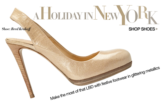 Shop Shoes- A Holiday in New York