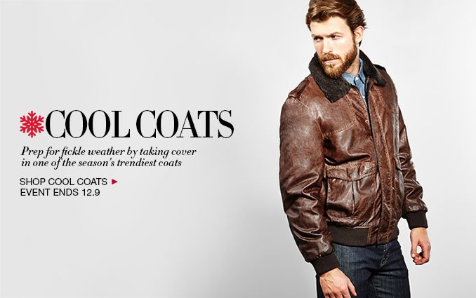 Shop Cool Coats For Men