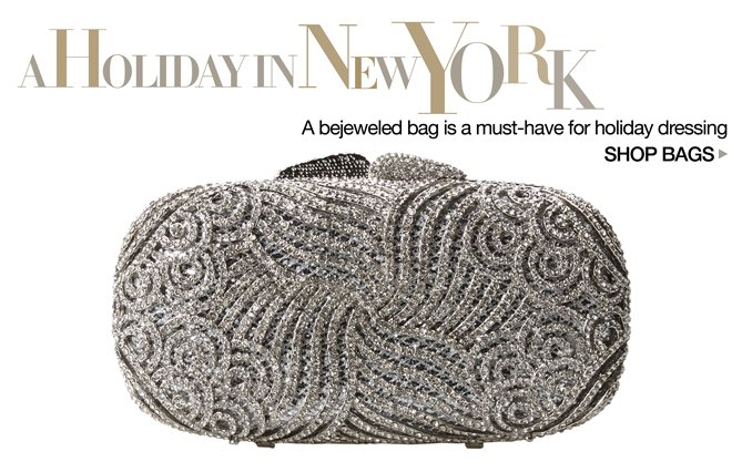 Shop Handbags- A Holiday in New York
