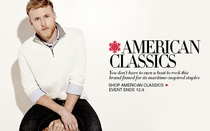 Shop American Classics For Men