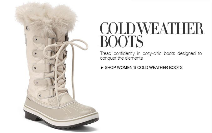 Shop Cold Weather Boots For Women
