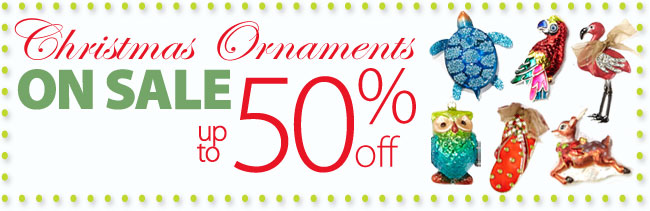 Christams Ornaments on sale up to 50% off