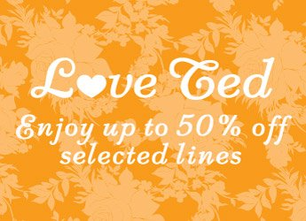 50% off selected lines