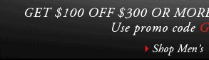 GET $50 OFF $150 OR MORE FOR A LIMITED TIME ONLY. Use promo code GGDEC at checkout. › SHOP MEN'S