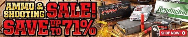 Ammo & Shooting Sale!
