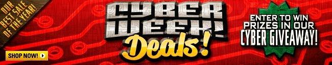Cyber Week Deals!