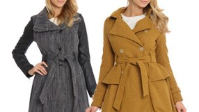 Ladies' wool Coats under $100