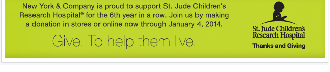 Donate to St. Jude Chilldren's Research Hospital