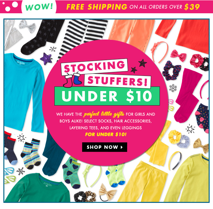 Stocking Stuffers Under $10!