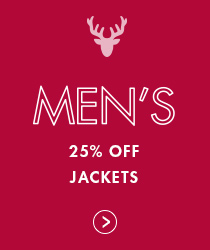 Shop Men - 25% off Jackets
