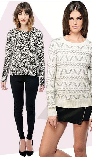 Statement knits are an excellent choice for adding some textural intrigue to your everyday look.