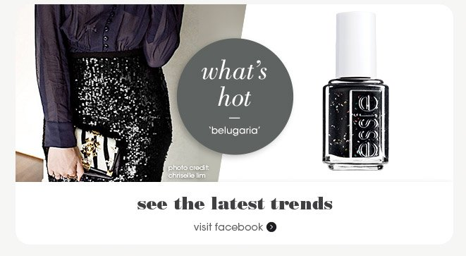What's hot? belugaria photo credit: chriselle lim see the latest trends visit facebook »