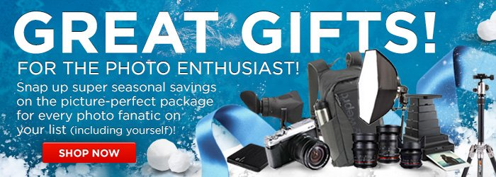 Adorama - Great Gifts For Photographers!