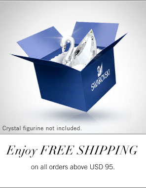 Enjoy free shipping on all orders above USD 95