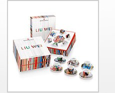 Liu Wei Art Collection Cappuccino Cups $185