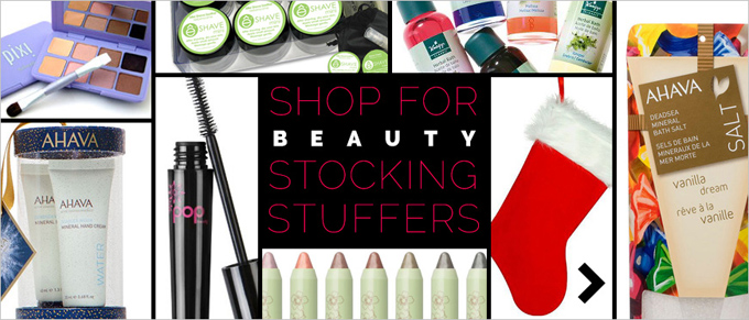 Shop For Beauty Stocking Stuffers