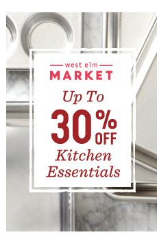Up to 30% off cookware + bakeware*