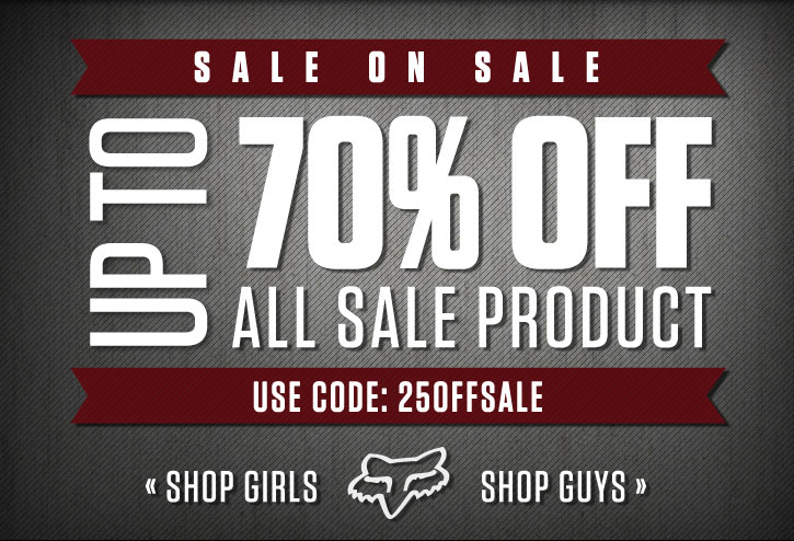 Sale on Sale - Up To 70% Off