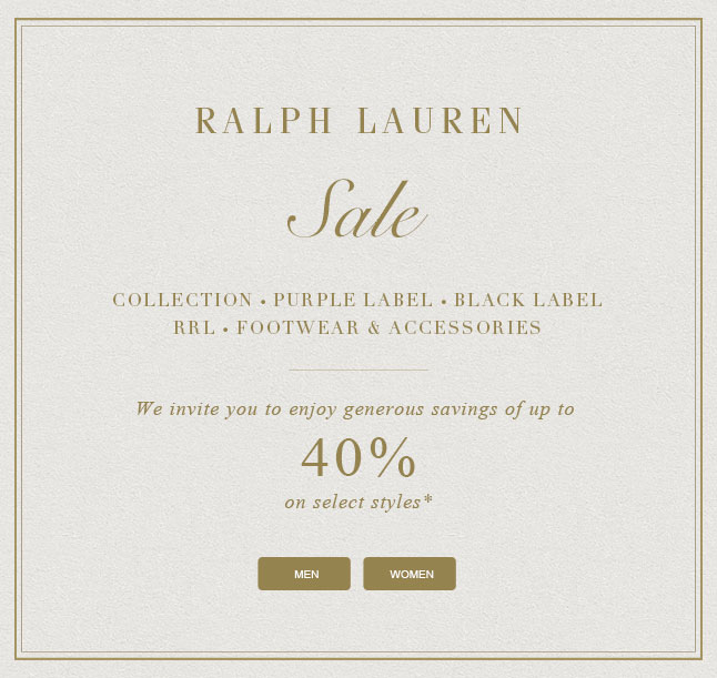 Enjoy Up To 40% Off Our Most Luxurious Styles