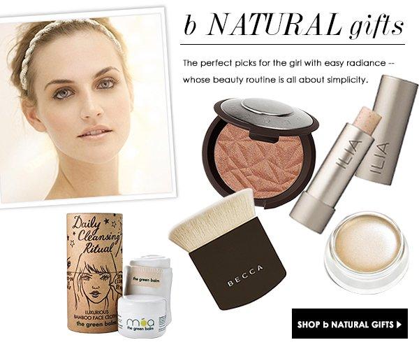 b Natural gifts