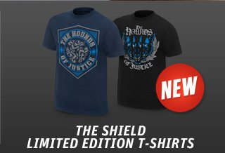 New! The Shield Limited Edition T's