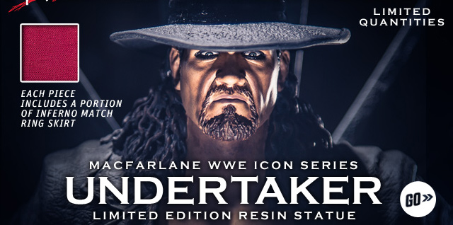 The Undertaker Limited Edition Icon Series McFarlane Statue
