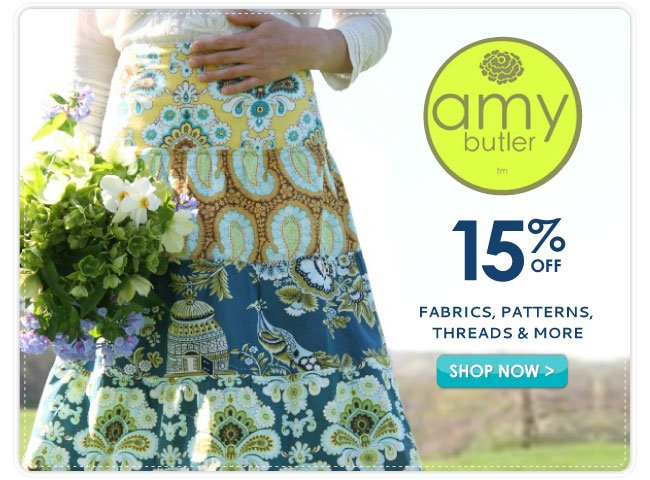 15% Off Amy Bulter Boutique