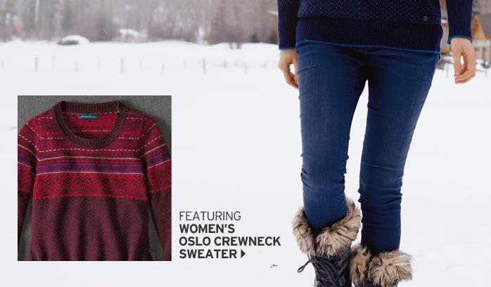 Shop Women's Oslo Crewneck Sweater