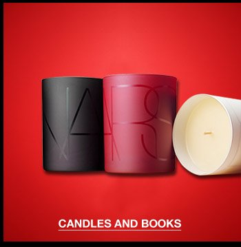 Candles and Books.
