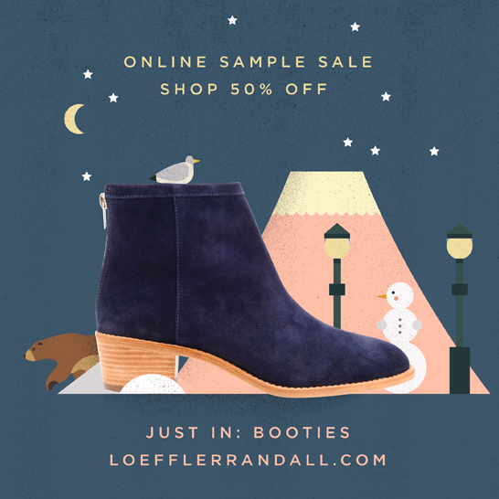Shop the Loeffler Randall Holiday Online Sample Sale at the Official Store www.LoefflerRandall.com